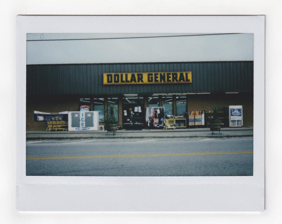The front of a Dollar General store is seen in this Friday, July 31, 2020, photo in Kentucky. (AP Photo/Wong Maye-E)