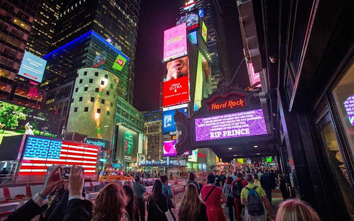 Times Square - 2016 Getty Images