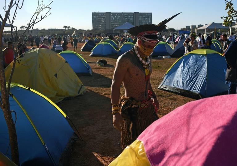 Indigenous rights activists say native inhabitants were often forced off their ancestral lands, including by Brazil's 1964-1985 military dictatorship