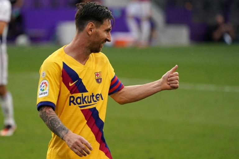 Lionel Messi notched his 20th assist of the season in Barcelona's 1-0 win over Real Valladolid on Saturday