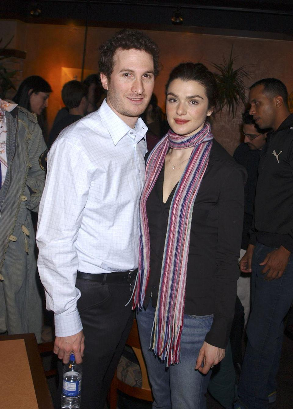 """<p>Weisz and <span class=""""redactor-invisible-space"""">the <em>Black Swan </em><span class=""""redactor-invisible-space"""">director dated for nine years and had a son together before <a href=""""http://people.com/celebrity/rachel-weisz-darren-aronofsky-split/"""" rel=""""nofollow noopener"""" target=""""_blank"""" data-ylk=""""slk:ending their engagement"""" class=""""link rapid-noclick-resp"""">ending their engagement</a> in November 2010. </span></span></p>"""