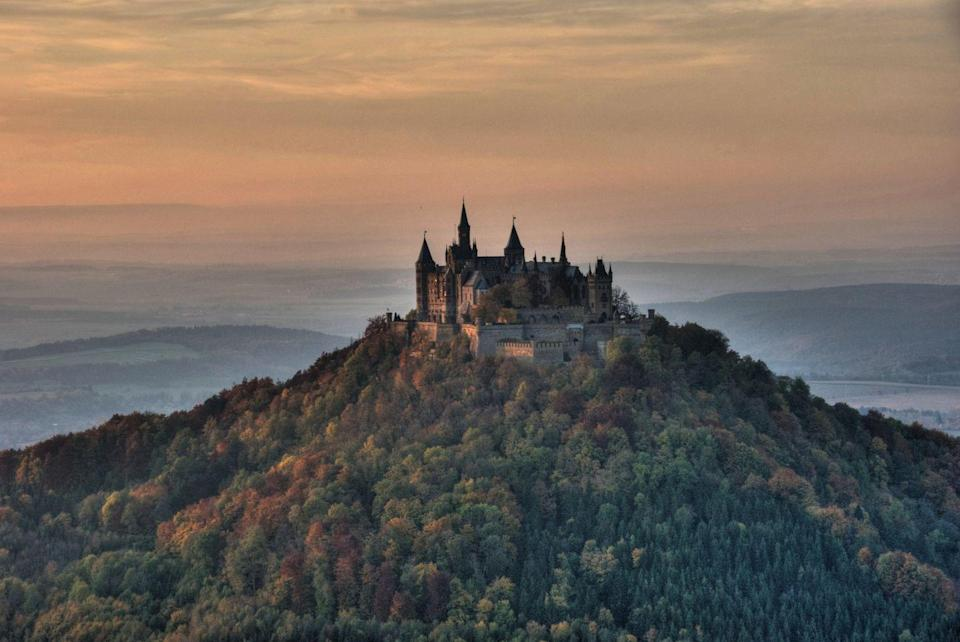 <p>TBH, this towering castle atop a mountain in Beden-Wurttemberg, Germany looks like an introvert's dream escape. </p>