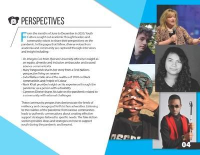 Youth Culture Inc's COVID-19 Youth Impact Report from an Equity, Diversity and Inclusion Lens released March 2021 youthimpactreport.com (CNW Group/Youth Culture Inc.)
