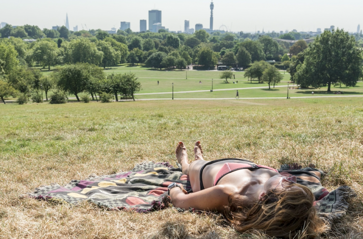 Sun seekers will be able to enjoy sweltering temperatures over the next few months (Rex)