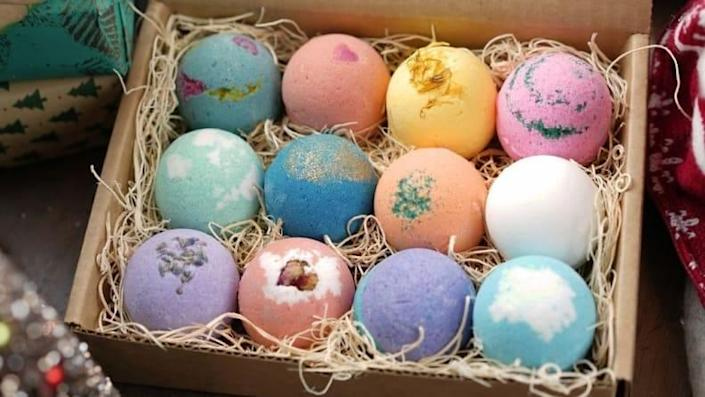 For the grad who needs some TLC: LifeAround2Angels Bath Bombs