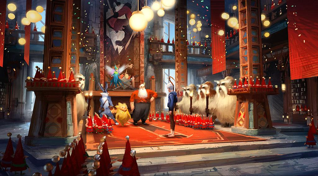 """DreamWorks' """"Rise of the Guardians"""" - 2012"""