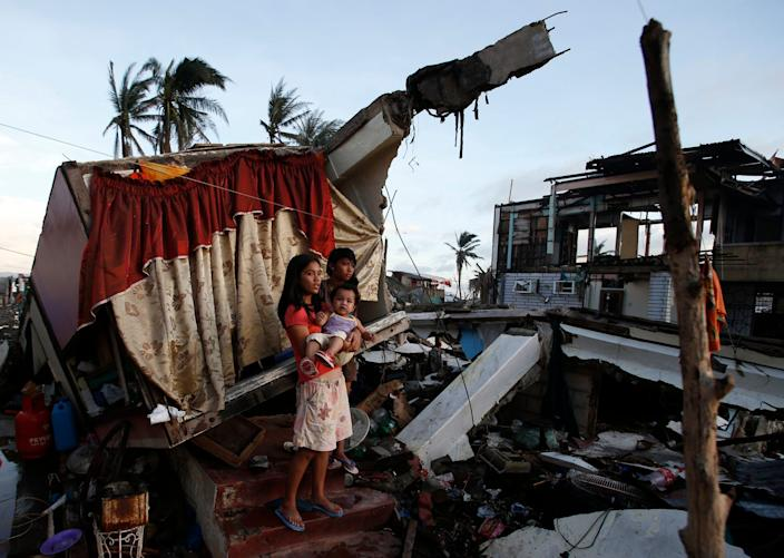 Phillipines after storm