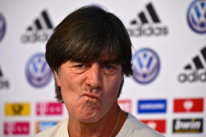 Joachim Loew is under pressure ahead of Germany's friendly against Serbia on Wednesday (AFP Photo/Tobias SCHWARZ)
