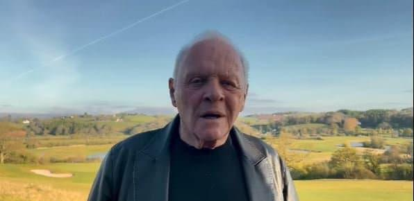 Anthony Hopkins, le 26 avril 2021 - Capture d'écran Instagram