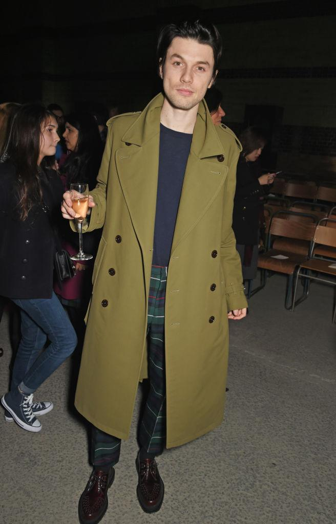 <p>James Bay joined the front row at Burberry in the Dimco Buildings this season. <em>[Photo: Getty]</em> </p>
