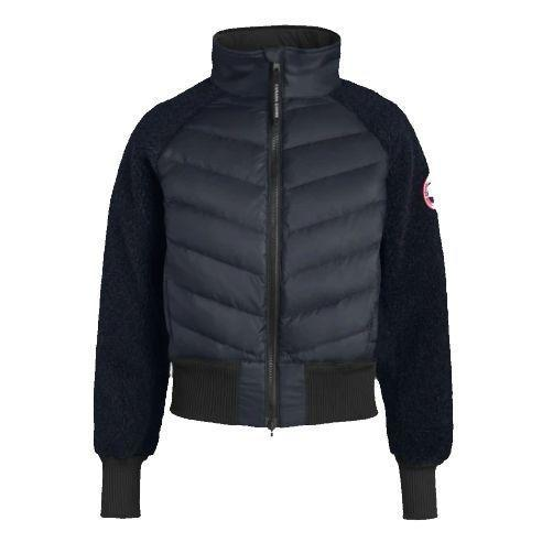"""<p><strong>fleece</strong></p><p>canadagoose.com</p><p><strong>$550.00</strong></p><p><a href=""""https://www.canadagoose.com/us/en/hybridge-fleece-jacket-7014L.html"""" rel=""""nofollow noopener"""" target=""""_blank"""" data-ylk=""""slk:Shop Now"""" class=""""link rapid-noclick-resp"""">Shop Now</a></p><p>Making the list for a second time, Canada Goose's Hybridge Fleece Jacket is new this season and has already achieved a 100% customer recommendation based on rave reviews. Its <strong>high-pile wool fleece is partially made with recycled materials</strong> and a jersey backing for extra comfort. It also features 675 fill power white goose down panels just where you need them on super cold days. """"The bomber style gives it the cool edge and the puff front adds a more detailed look,"""" writes one happy customer. </p>"""