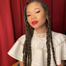 What's better than box braids? <em>Braided</em> box braids. Just look how cool the style is here on Storm Reid.