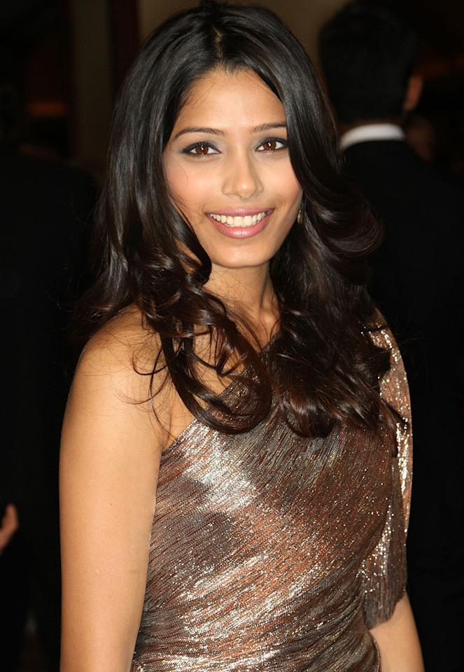 "<a href=""http://movies.yahoo.com/movie/contributor/1810042390"">Freida Pinto</a> at the 61st Annual Directors Guild of America Awards in Los Angeles - 01/31/2009"