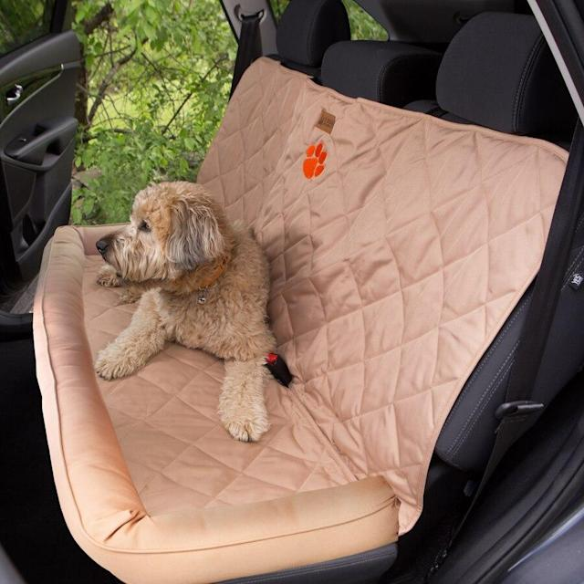 Clemson Back Seat Protector with Bolster