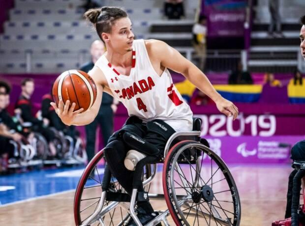 With life in sync professionally, Canadian wheelchair basketball star Nik Goncin has turned his focus on preparing for his second Paralympic experience. (Canadian Paralympic Committee - image credit)