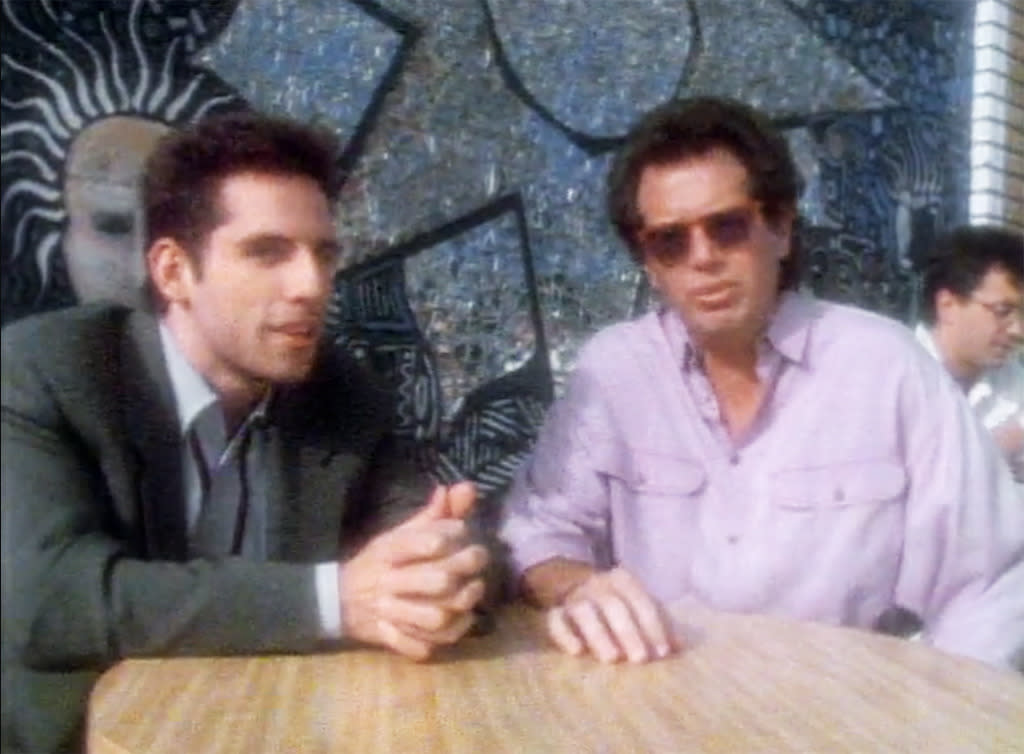 """<p>He's at his smarmy, exasperated best here. Stiller ambushes Shandling, who thinks they were just going to have lunch. Shandling's irritation rises as he finds out that he'll just be in the in-between segments — """"The weakest part of the show?"""" But he gets the last laugh, plugging his own show before departing in a huff.</p><p><i>(Credit: Fox)</i></p>"""