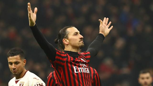 The Swede rejoined the Rossoneri in January on a deal until the end of the season, with a potential extension for a further 12 months