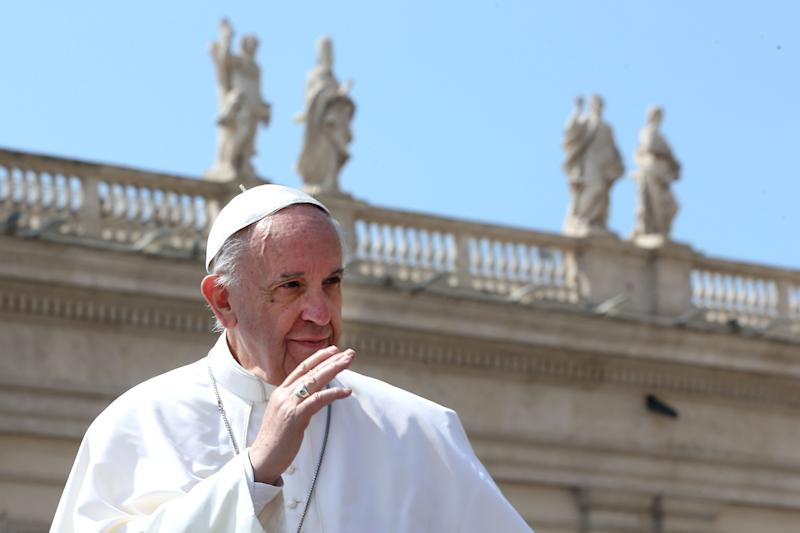 Pope Francis Denounces 'Vile' Syria Attacks in Easter Sunday Message