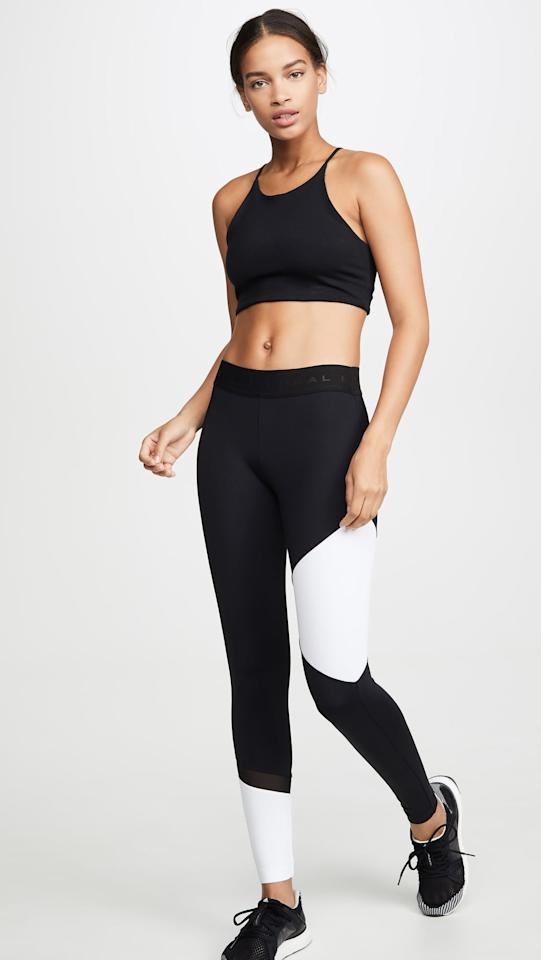 """<p>These colorblock <a href=""""https://www.popsugar.com/buy/Koral-Activewear-Glacier-Leggings-486617?p_name=Koral%20Activewear%20Glacier%20Leggings&retailer=shopbop.com&pid=486617&price=130&evar1=fit%3Aus&evar9=44234490&evar98=https%3A%2F%2Fwww.popsugar.com%2Fphoto-gallery%2F44234490%2Fimage%2F46618878%2FKoral-Activewear-Glacier-Leggings&list1=workout%20clothes%2Cleggings%2Cworkouts%2Cfitness%20gifts%2Cactivewear%2Cgifts%20for%20women&prop13=api&pdata=1"""" rel=""""nofollow"""" data-shoppable-link=""""1"""" target=""""_blank"""" class=""""ga-track"""" data-ga-category=""""Related"""" data-ga-label=""""https://www.shopbop.com/glacier-leggings-koral-activewear/vp/v=1/1523194307.htm?fm=search-viewall-shopbysize&amp;os=false"""" data-ga-action=""""In-Line Links"""">Koral Activewear Glacier Leggings</a> ($130) are so cool.</p>"""