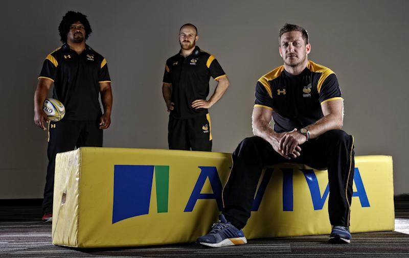 Wasps trio Joe Simpson, Jimmy Gopperth and Ashley Johnson have experienced the dangers of mobile phone distractions while driving as part of Aviva's new #DriveSafer campaign