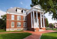 """<p><strong>Established in 1743</strong></p><p><strong>Location: Newark, Delaware<br></strong></p><p>In 1743, a <a href=""""https://www.udel.edu/about/history/"""" rel=""""nofollow noopener"""" target=""""_blank"""" data-ylk=""""slk:petition"""" class=""""link rapid-noclick-resp"""">petition</a> created by the Presbytery of Lewes to create an educated clergy caught the attention of Rev. Dr. Francis Alison, who opened a school in New London, Pennsylvania. In 1765, it was relocated to Newark, Delaware. </p>"""