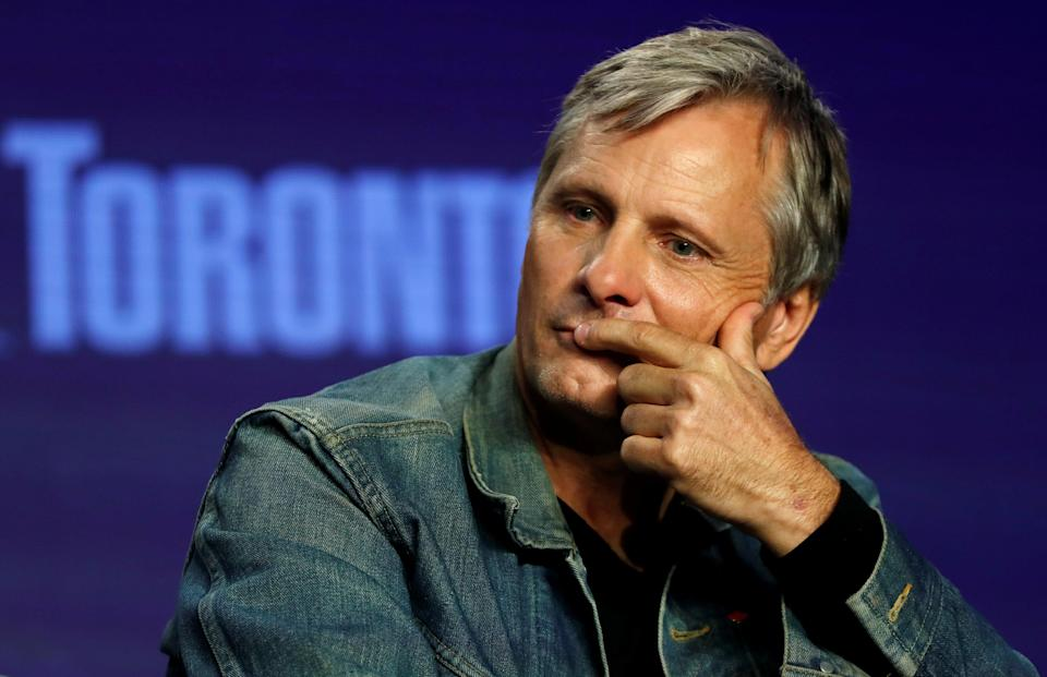 """FILE PHOTO: Actor Viggo Mortensen attends a news conference to discuss the movie """"Green Book"""" at the Toronto International Film Festival (TIFF) in Toronto, Ontario, Canada September 12, 2018. REUTERS/Mario Anzuoni/File Photo"""