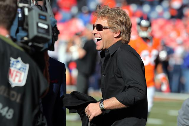 Jon Bon Jovi, Roger Goodell dine in NYC ... talking Buffalo Bills ownership?