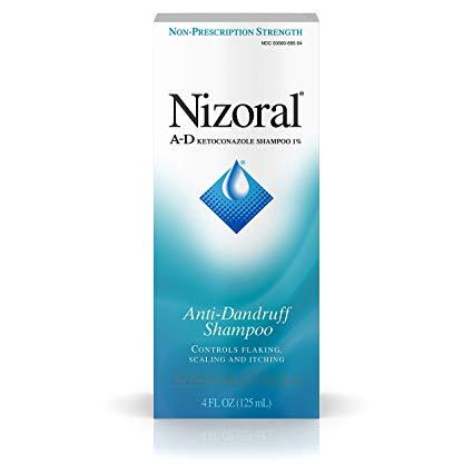 """<h3><a href=""""https://amzn.to/30ayHIc"""" rel=""""nofollow noopener"""" target=""""_blank"""" data-ylk=""""slk:Nizoral A-D Anti-Dandruff Shampoo"""" class=""""link rapid-noclick-resp"""">Nizoral A-D Anti-Dandruff Shampoo</a></h3><br>""""I love this product because is made with 1% ketoconazole, which helps to curb the excessive yeast overgrowth seen in seborrheic dermatitis,"""" Dr. Gmyrek says. """"This decreases inflammation, scale and itch.""""<br><br><strong>nizoral</strong> A-D Anti-Dandruff Shampoo, $, available at <a href=""""https://amzn.to/30ayHIc"""" rel=""""nofollow noopener"""" target=""""_blank"""" data-ylk=""""slk:Amazon"""" class=""""link rapid-noclick-resp"""">Amazon</a>"""