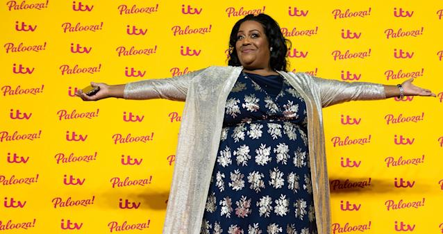 Alison Hammond made an emotional speech about the Black Lives Matter movement on 'This Morning'. (Getty Images)