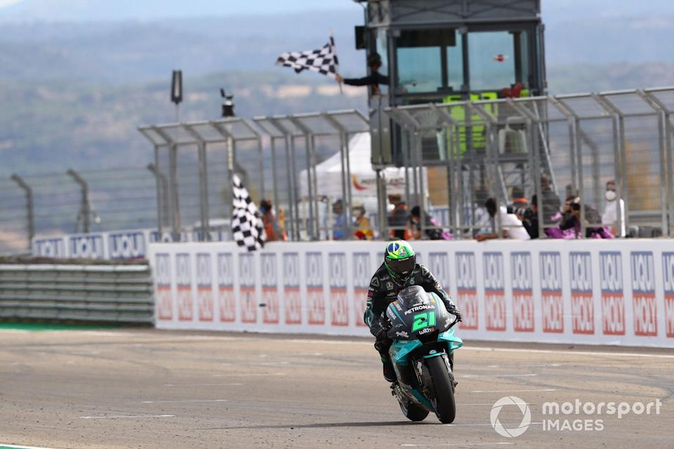 "GP de Teruel: Franco Morbidelli, Petronas Yamaha SRT<span class=""copyright"">Gold and Goose / Motorsport Images</span>"