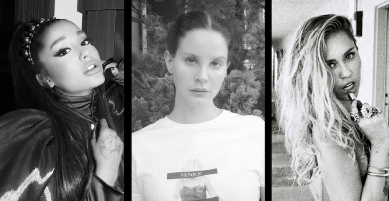Ariana Grande, Lana Del Rey, and Miley Cyrus team up for new Charlie's Angels song