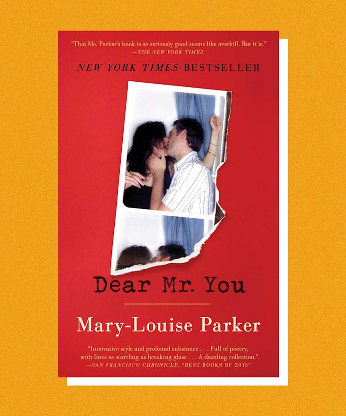 """Mary-Louise Parker wrote her epistolary memoir, <em>Dear Mr. You</em>, as 34 brief letters to various men she has known in her life. The result is a sweet, candid book that feels true to Parker's soul. Parker was famously 7-months-pregnant when her partner, Billy Crudup, left her for Claire Danes, and while she doesn't name names in the book, she does give you insight into her heartbreak. In one section, """"Dear Mr. Cabdriver"""", she writes """"I am alone. Look, see? I am pregnant and alone. It hurts to even breathe.""""<br><br>But the book is a triumph — whimsical, sensitive, and candid. In fact, it's a lot like Parker herself."""