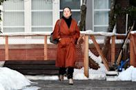 Huawei Chief Financial Officer Meng Wanzhou leaves her home to attend a case management conference in Vancouver