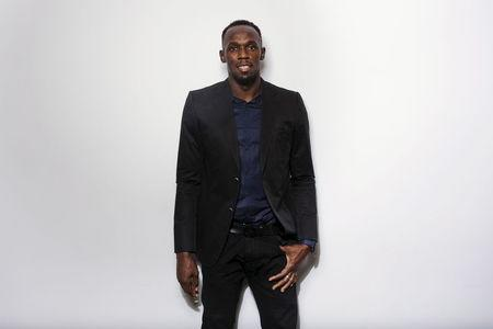 Bolt poses for a portrait in New York