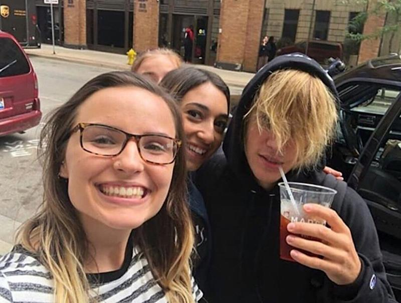 While in Michigan this past September—a whirlwind month for Bieber's hair—he returned to the forehead-less days of his youth.