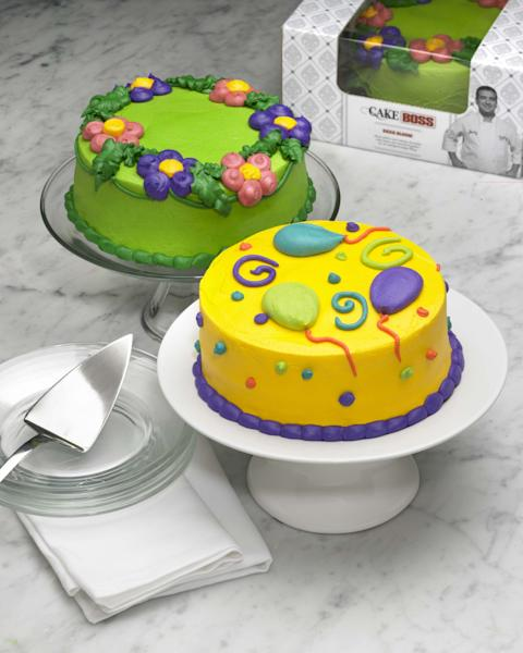 """This undated photo provided by DKC Public Relations shows cakes by """"Cake Boss"""" star Buddy Valastro. Valastro says he's long wanted to give fans of his popular TLC reality show an opportunity to taste the cakes viewers watch him bake and decorate at his Hoboken, N.J., bakery. So Valastro gave his recipes to a company that supplies his bakery with goods like sugar and flour to come up with a cake line for bakeries and grocery stores across America. That line rolls out this summer. (AP Photo/DKC Public Relations, Pam Soorenko)"""