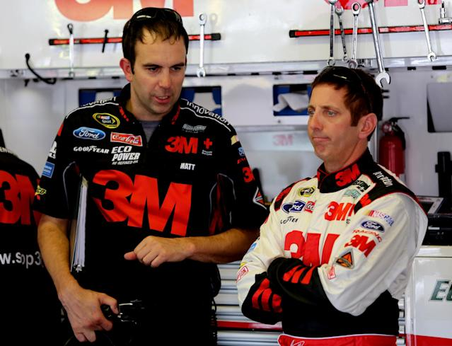 Greg Biffle will have sponsorship from Ortho in 2015