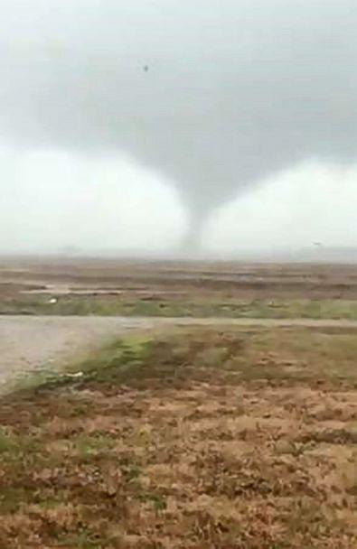 PHOTO: A tornado is pictured near Slovak, Ark. (Stephanie Prislovsky via Storyful)