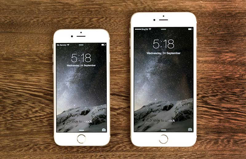 how to get to iphone setup on iphone 6
