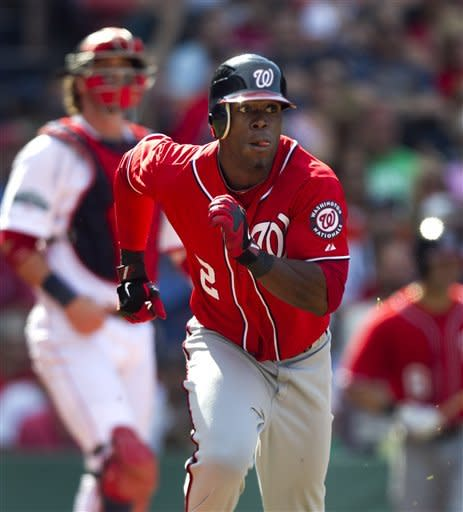 Nats complete sweep with 4-3 win over BoSox