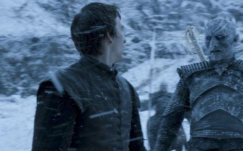 Bran Stark encounters the Night King