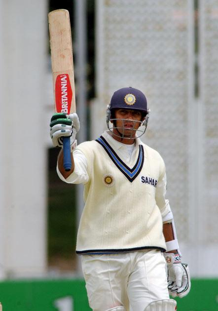 Dravid scored his first double century in Test cricket, when he scored 200* against Zimbabwe at Delhi in November 2000. He also scored 70* in the second innings to help India win the match. He followed this up with a 162 in the following   Test, giving him 432 runs in the two-match series at an average of 432.