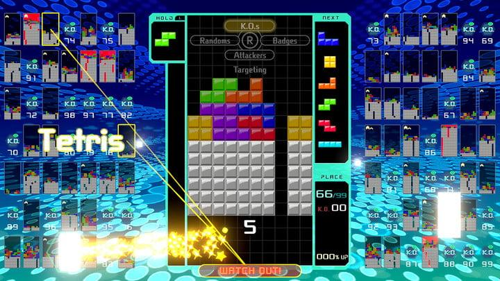 best nintendo switch exclusives tetris99