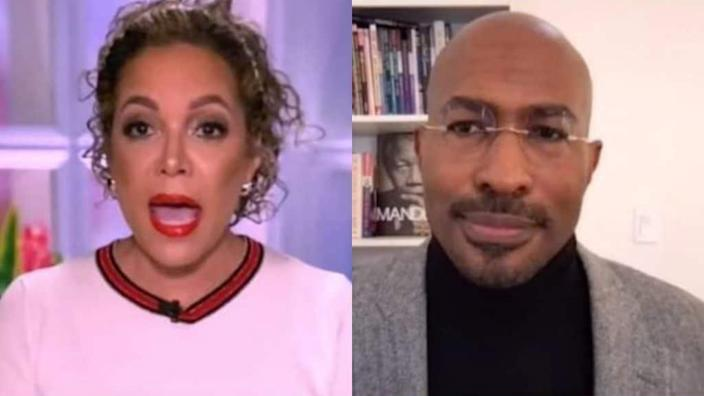 Image result for images of van jones  on the view