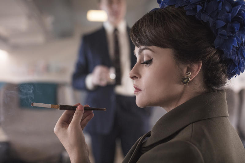 Helena Bonham Carter as Princess Margaret in the third season of Netflix historical drama 'The Crown'. (Credit: Sophie Mutevelian/Netflix)