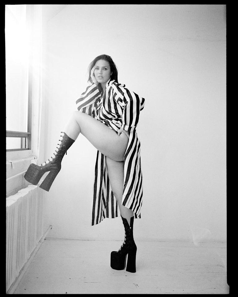 """<h2>Candice Huffine</h2>                                                                                                                                                                             <p><p><span>Plus-size model Candice has been a major part of the push for a more inclusive fashion industry when it comes to body positivity. Not only was she the first-ever plus-size model in the Pirelli Calendar in 2015, but she is also part of the Lane Bryant #ImNoAngel campaign that rolled out last year. What's more, she's walked in countless non-plus-exclusive runways, like Prabal Gurung, Sophie Theallet and Christian Siriano. This is only the beginningof the waves Candice is making in the industry.</span></p>                                                                                                                                                                               <h4>@candicehuffine</h4>                                                                                                                 <p>     <strong>Related Articles</strong>     <ul>         <li><a rel=""""nofollow"""" href=""""http://thezoereport.com/fashion/style-tips/box-of-style-ways-to-wear-cape-trend/?utm_source=yahoo&utm_medium=syndication"""">The Key Styling Piece Your Wardrobe Needs</a></li><li><a rel=""""nofollow"""" href=""""http://thezoereport.com/beauty/skincare/dimpleplasty-plastic-surgery-trend/?utm_source=yahoo&utm_medium=syndication"""">The Latest Cosmetic Surgery Trend Is Beyond Shocking</a></li><li><a rel=""""nofollow"""" href=""""http://thezoereport.com/beauty/hair/chrissy-teigen-strawberry-blonde/?utm_source=yahoo&utm_medium=syndication"""">Chrissy Teigen Just Debuted A New Summer-Ready Hairdo</a></li>    </ul> </p>"""