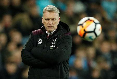 Soccer Football - FA Cup Third Round Replay - West Ham United vs Shrewsbury Town - London Stadium, London, Britain - January 16, 2018 West Ham United manager David Moyes Action Images via Reuters/John Sibley