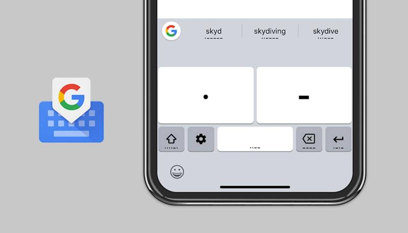 Google brings accessible Morse code typing to Gboard on iOS