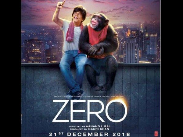 Zero New Poster: Not Katrina Kaif Or Anushka Sharma, Shahrukh ...