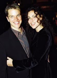 Minnie Driver Ran Into Ex Matt Damon for First Time in 20 Years: 'It All Felt Quite Middle-Aged'